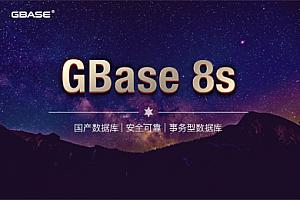 GBase 8s_南大通用安全数据库管理系统